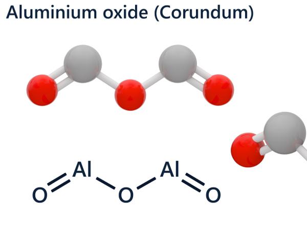 алуминиев оксид - формула